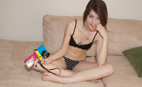 ingrid hayes schoolgirl photoshoot
