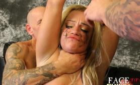 throat fuck,facial,hardcore,rough,abuseound 2 is Kenzie Green and Face Fucking on steroids
