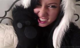 Panda teen pussy